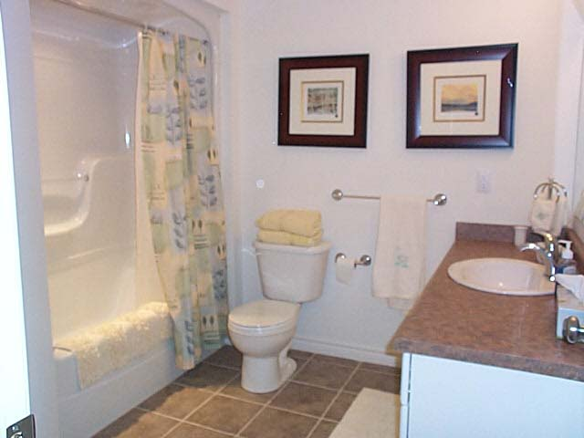 Upstairs bathroom.