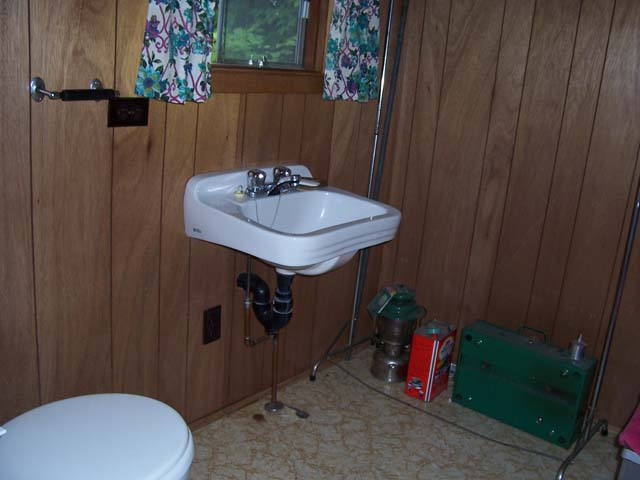 Bunkie bathroom.