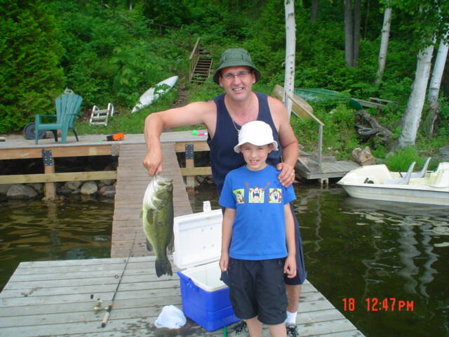 The fishing is great in Cranberry Lake.