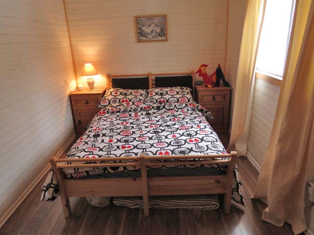 Bedroom #1 situated on main floor.