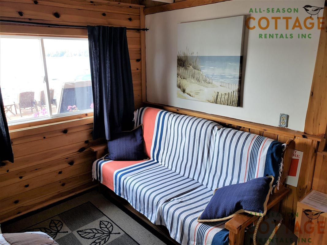 There is also a double futon in the Bunkie