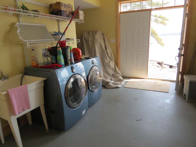 Mud room/laundry room with outdoor access