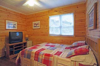Bedroom #2 in main cottage