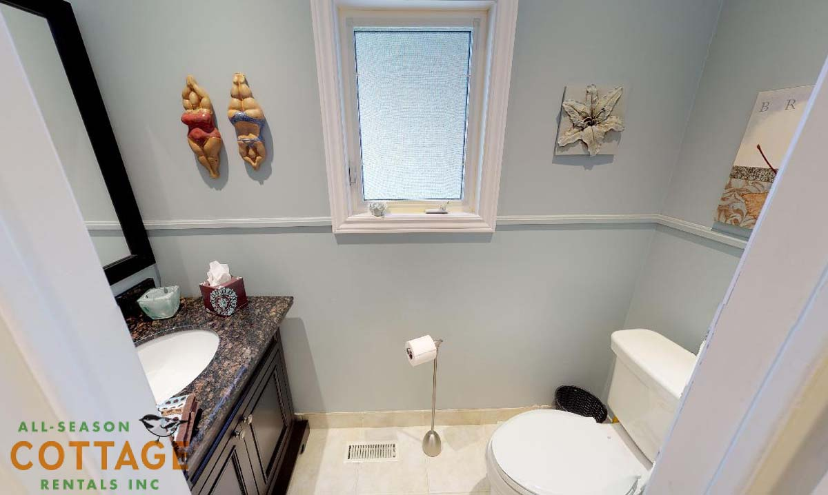 2PC powder room on main floor
