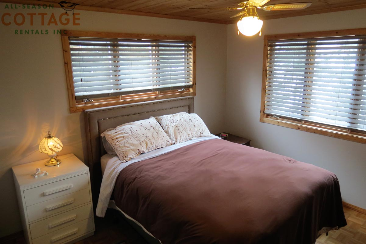 Bedroom #3 - Located upstairs with Double bed