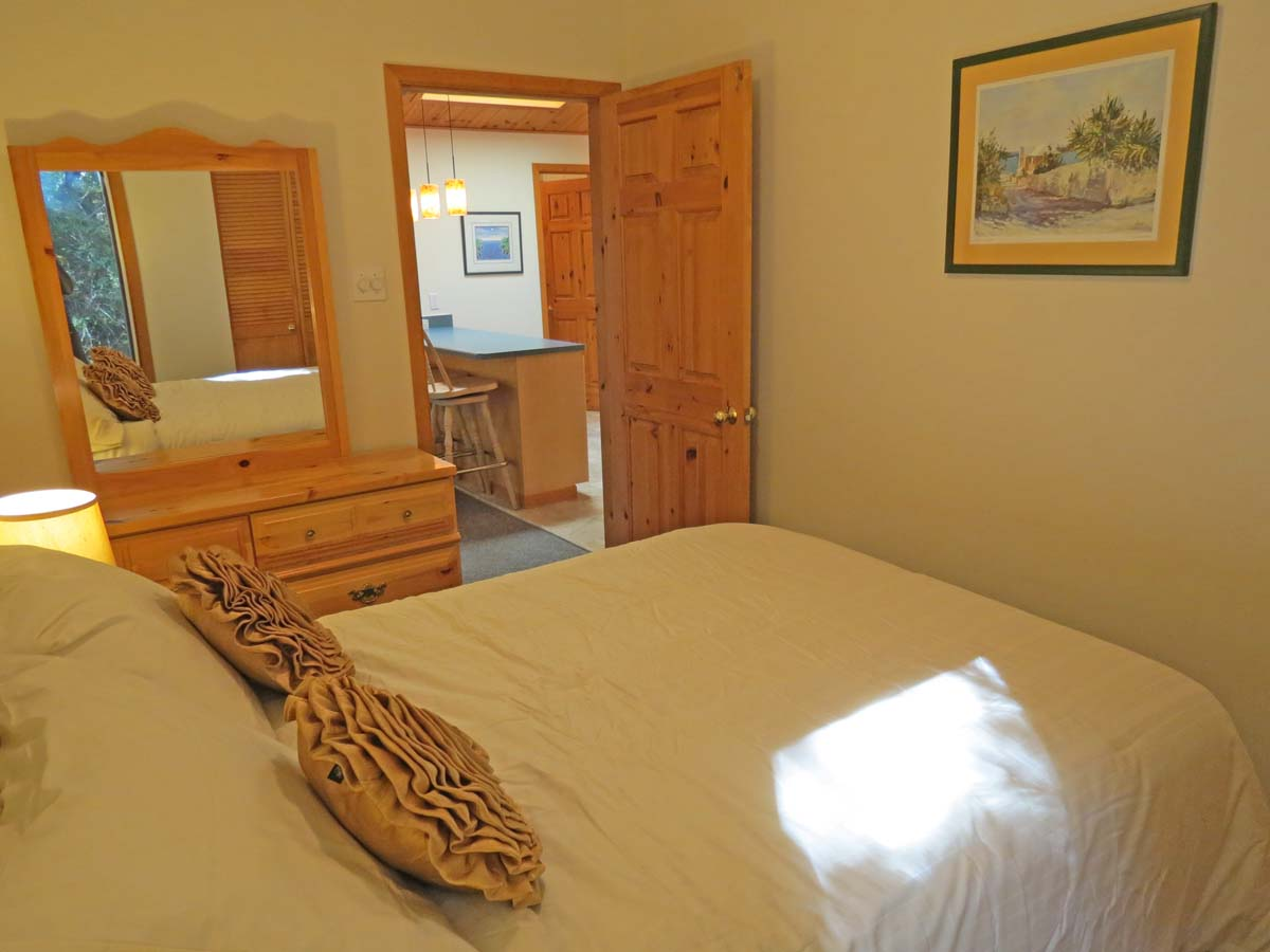 Bedroom #2 situated on the main floor
