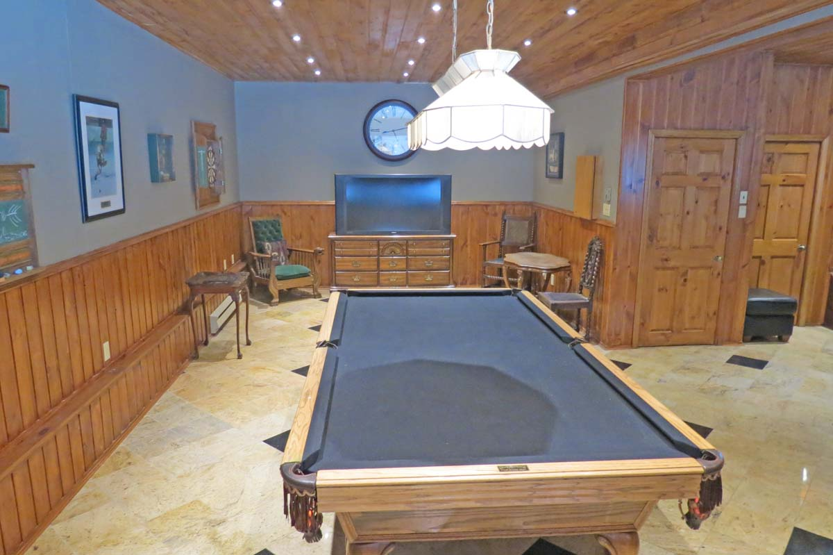 Games room with pool table, ping pong, and darts